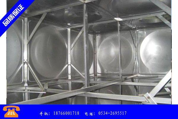 眉山彭山縣不銹鋼水箱規格型號零售商