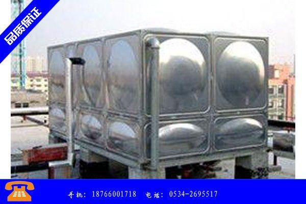 普洱景東彝族自治縣不銹鋼水箱示意圖近期行