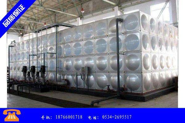 榆林市不锈钢水箱设备做工细致|榆林市不锈钢水箱设备价格