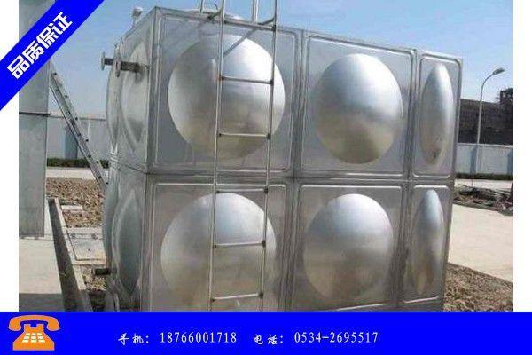 无锡北塘区18t不锈钢水箱价格信誉保证