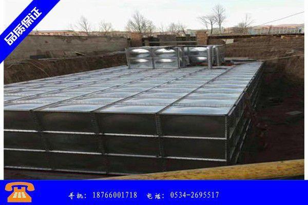 河源市西宁不锈钢水箱价格国内15市场报价上涨
