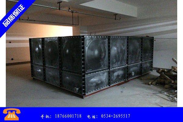 伊春铁力搪瓷钢板水箱哪家好产品范围