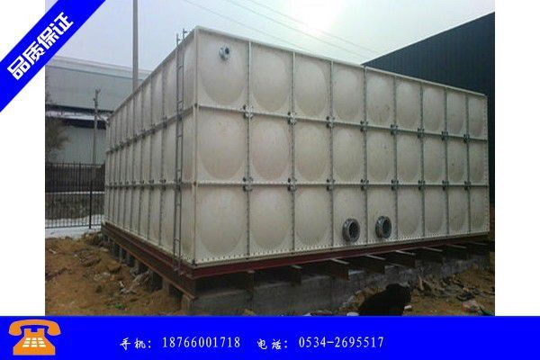 佛山四川玻璃钢水箱质量标准