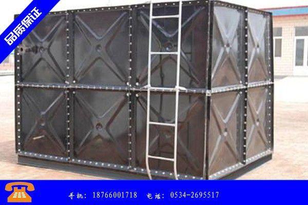 平凉市白钢水箱的价格利用电渣重熔技术生产的基本过程