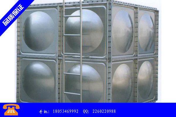 吕梁文水县不锈钢水箱不锈钢水箱的特点全面品质保证