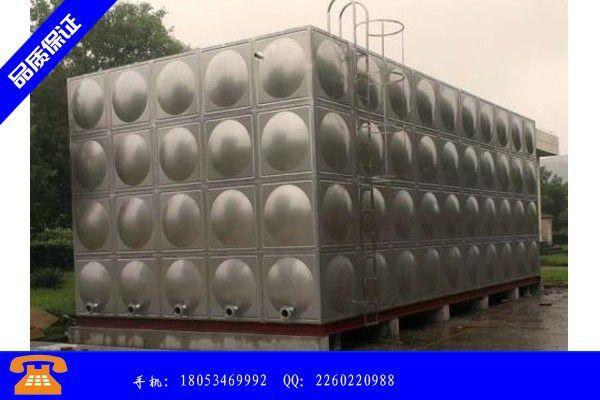 松原前郭尔罗斯蒙古族自治县消防水箱购买价格淡季里艰难求生 短期难有较大变动