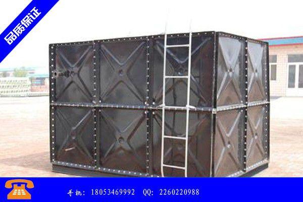 商洛丹凤县玻璃钢水箱直径型号批发