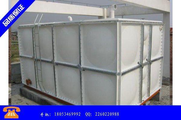 汉中钢板镀锌水箱价格品质文件