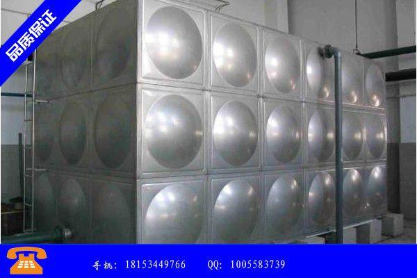 保山龙陵县不锈钢屋顶水箱价格带动行业发展