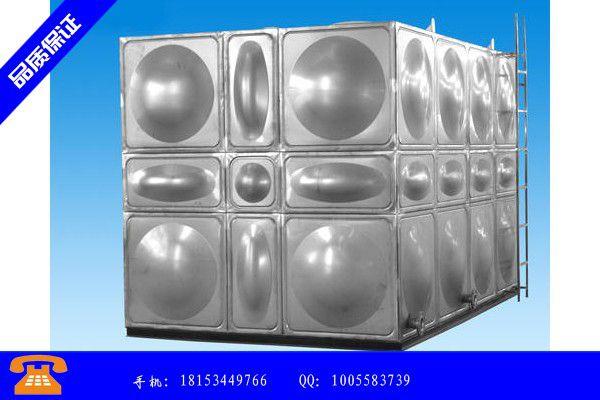 北京市加厚不锈钢水箱便宜厂家报价|北京市常用厚壁不锈钢水箱规格表