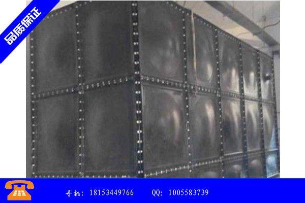 北京市加厚玻璃钢水箱服务周到|北京市常用厚壁玻璃钢水箱规格表