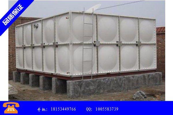 仙桃市制作玻璃钢水箱价格分享给经销商的发展之道