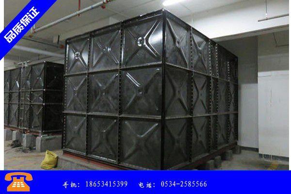 晋州市不锈钢水箱出口不锈钢水箱品牌利好发展|晋州市不锈钢水箱壁厚国标