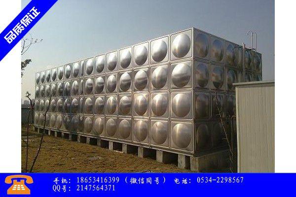 通辽市方形不锈钢水箱变形的原因带动行业发展