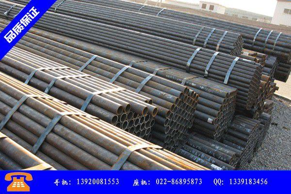 甘南藏族碌曲县45#508*32合金钢管场报价上涨下游持币观望