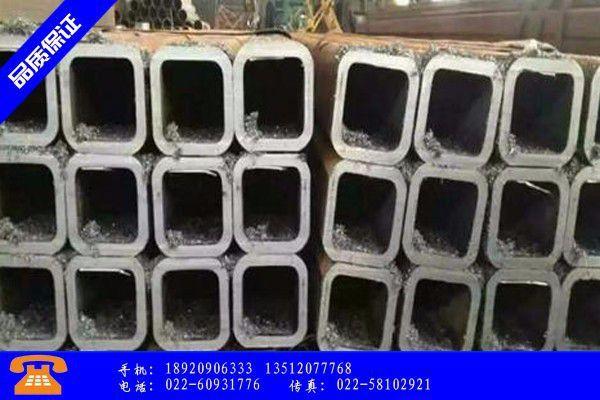 海南Q355B无缝方管市场价格上涨吨
