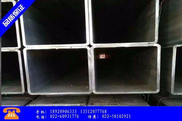 喀什地区叶城县铁方管产品分类相关知识