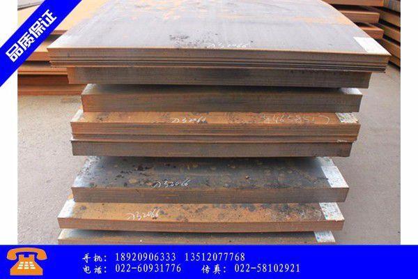 淮北Q355NHD耐候钢板市场价格继续下跌
