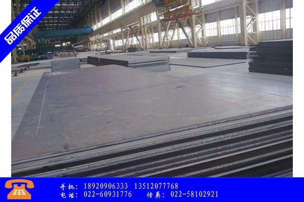 丹东Q55GNH耐候钢板国内价格呈单边休克式阴跌
