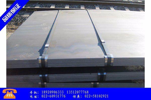 哈密SpA-H耐候钢板黑色系坐过山车市场风平浪静
