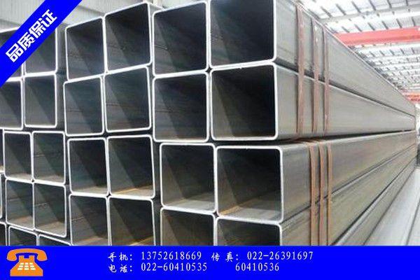 永安市镀锌方管规格型号表产品范围