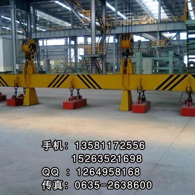 青州市双梁行车1米5电磁吸盘的广泛运用