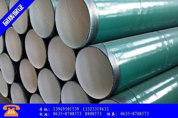 大连内外钢管涂塑地区交易有所好转价格明显上涨