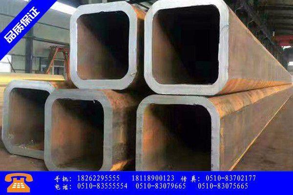 广元青川县q235b无缝方管社会库存继续下降