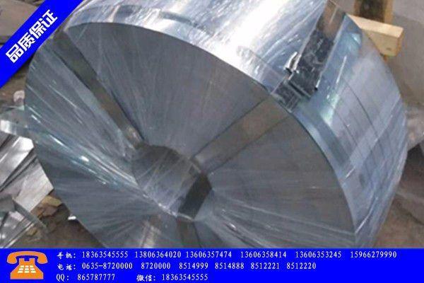 揭阳热镀锌与镀锌带钢主要分类