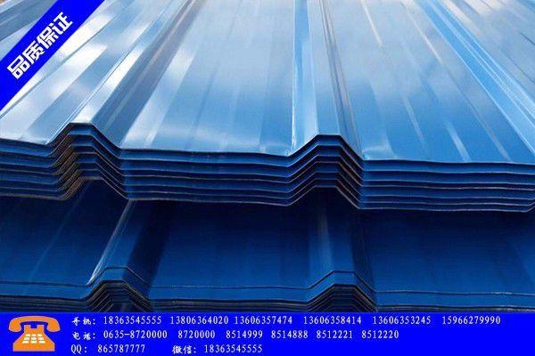 滨州滨城区电镀锌板卷专业市场趋弱创新低