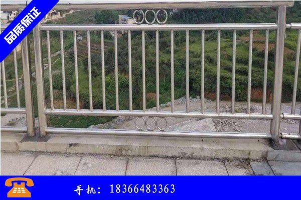 九江不锈钢复合管护栏多少钱份需求量或有好转