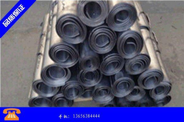 慈溪市4mm厚铅板产品的常见用处