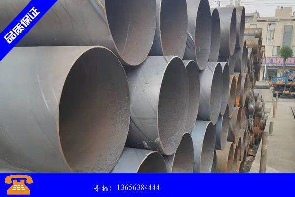 韩城市管道螺旋钢管月底多以出货为主价格整体不温不火