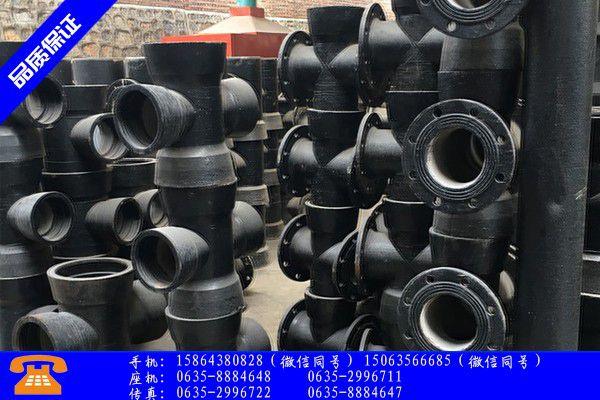 沧州河间dn500球墨铸铁管实体供货