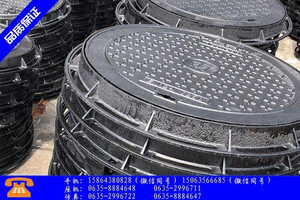 自贡荣县球墨井盖重量