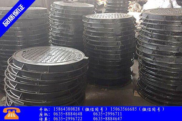 铸铁井盖板安装