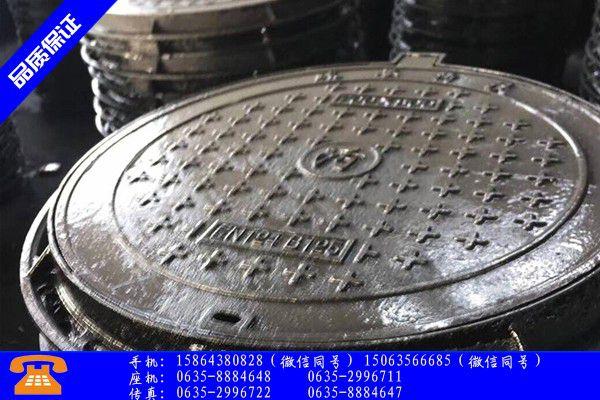 铸铁井盖生产