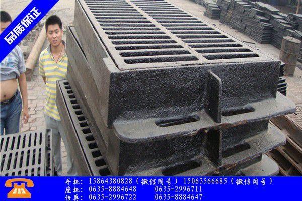 文昌700球墨铸铁井盖价格高位难降市场需求未有突破