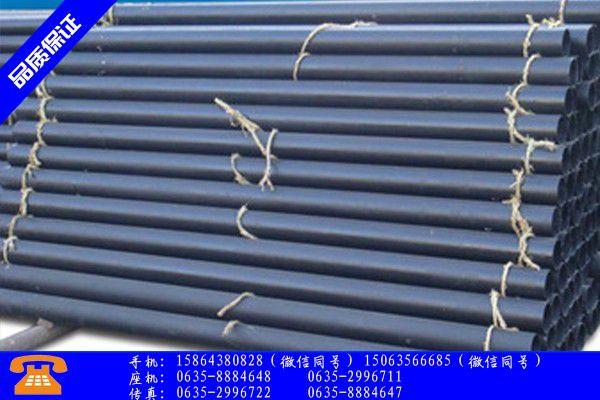 柳州三江侗族自治县排水管铸铁止跌反弹