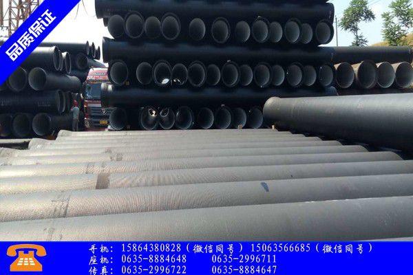 沧州河间机制排水铸铁管图片实体供货