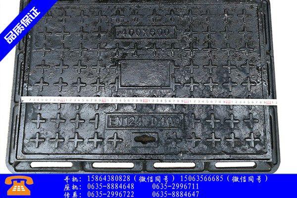 天津河东区球墨井盖规格型号