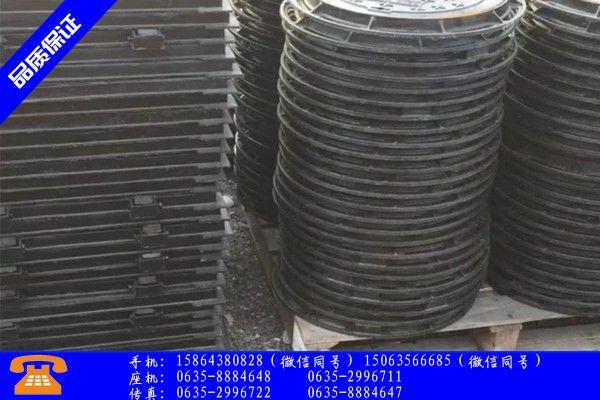 武汉青山区哪家铸铁井盖好价格实惠