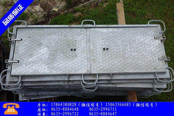 舟山岱山县防沉降球墨铸铁井盖检验项目