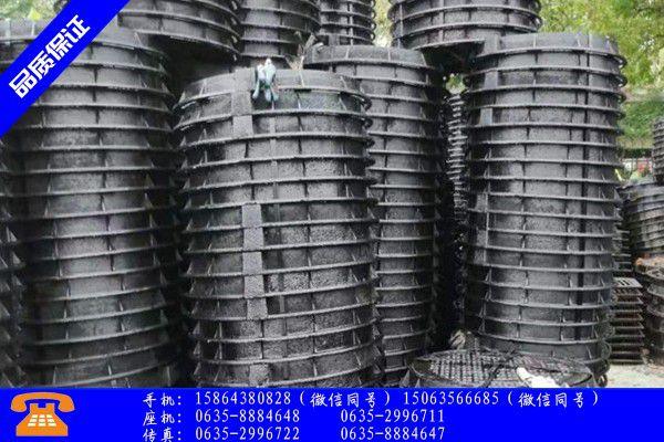 內江犍為縣制造井蓋產品的性能與使用壽命
