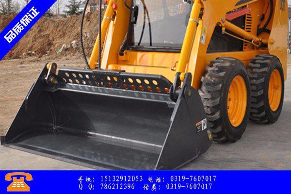 邵阳隆回县大型滑移装载机全体员工