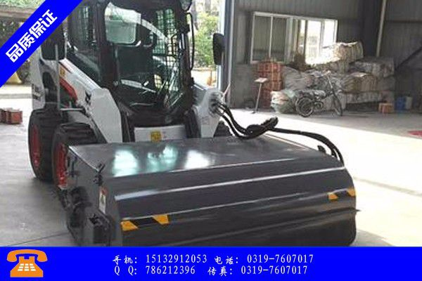 宝鸡千阳县清扫装载机产品使用不可少的常识储备