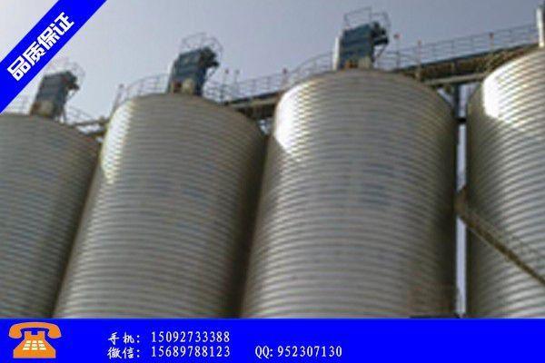 安国市钢板仓设备 厂家市场企稳还需时日