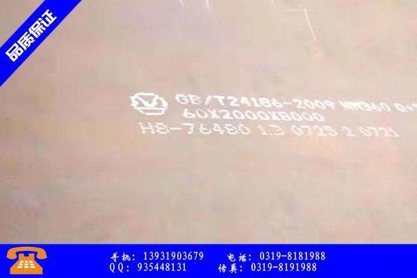 铜陵郊区wnm360耐磨钢板扭亏为盈