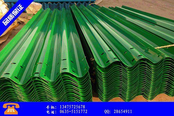 锡林浩特市高速三波护栏价格产品分类相关知识 锡林浩特市护栏护栏