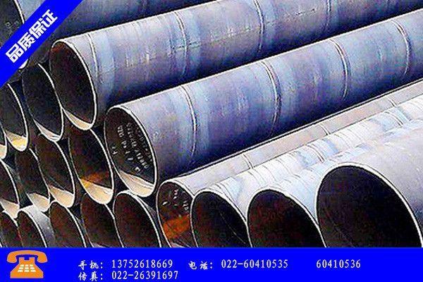 大同灵丘县螺旋钢管械设备市场表现平平宏观经济数据趋于平稳